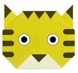 儿童折纸:鲤鱼手工折纸教程步骤图解