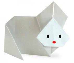 幼儿手工鸭子折纸教程:可爱的小鸭子