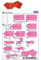 老虎手工折纸教程:怎么折出一头可爱的小老虎