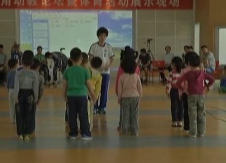 中班体育活动《好玩的绳子》有教案