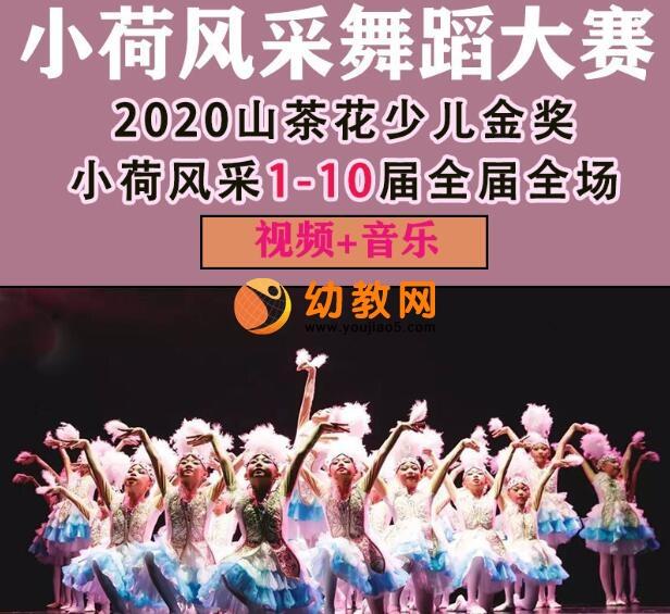 小荷风采舞蹈大赛第一到第十届金奖展演视频143G下载
